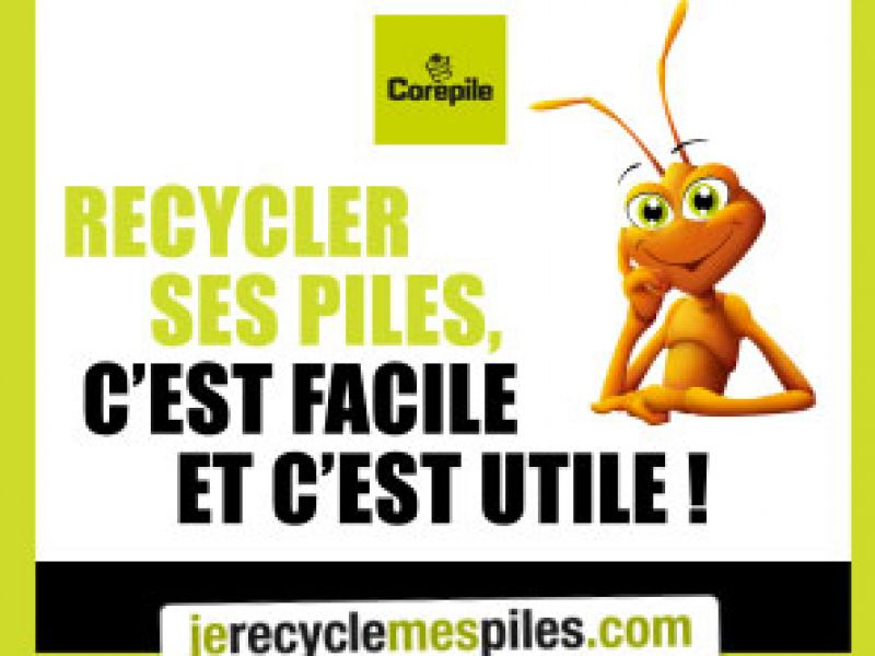 recycler ses piles